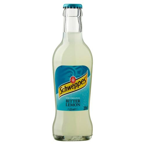 Schweppes Bitter Lemon Glas 0.20L 1x (200ml)
