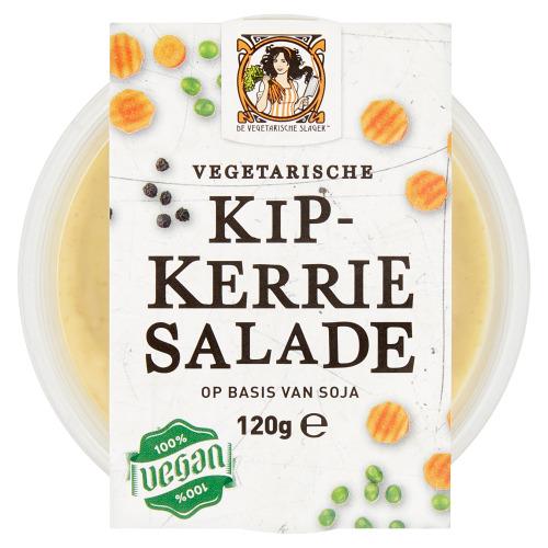 Vegetarische Kip-Kerriesalade 120 gram (120g)