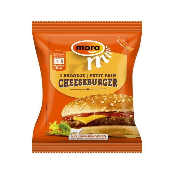 Broodje cheeseburger (130g)