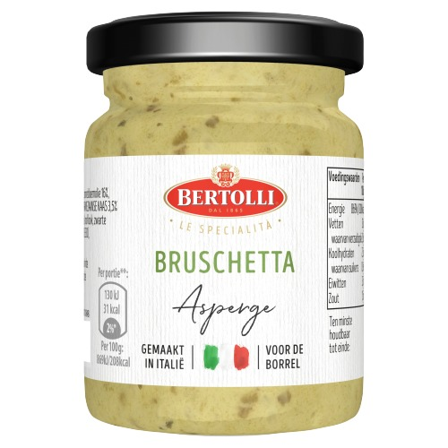Bertolli Bruschetta aspargus (90g)