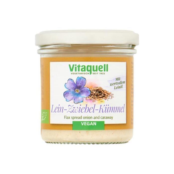 Vitaquell Vegan Paté met Lijnzaad, Ui en Karwij 130 g (130g)
