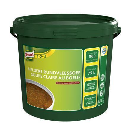 Knorr Heldere Rundersoep 3KG 1x (3kg)