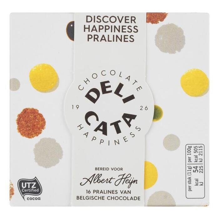 Delicata Chocolate happiness mix (16 st.)