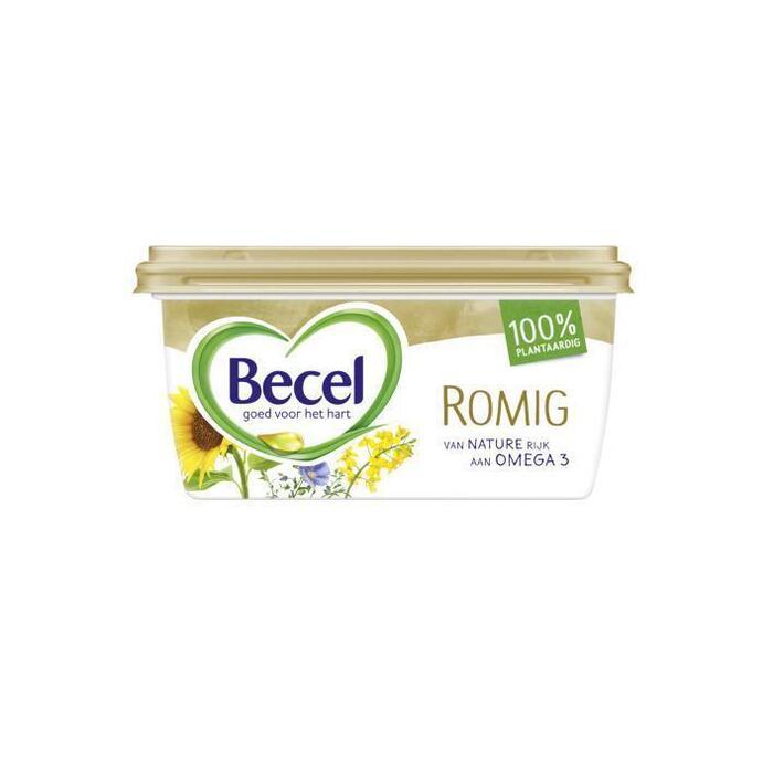 Becel Romig 450G 8x (kuipje, 450g)
