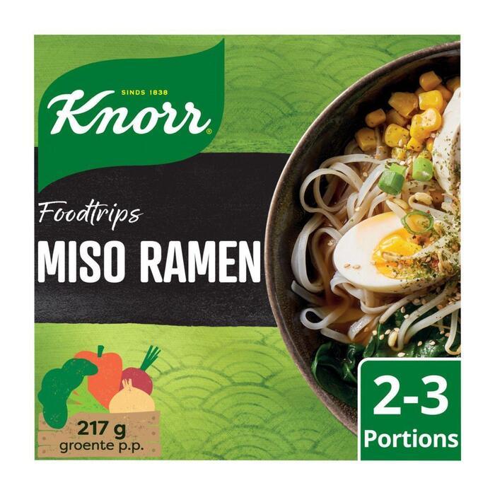 Knorr Wereldgerechten food trips miso ramen (170g)