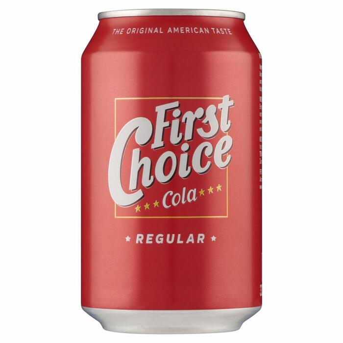 First Choice Cola (rol, 33 × 33cl)