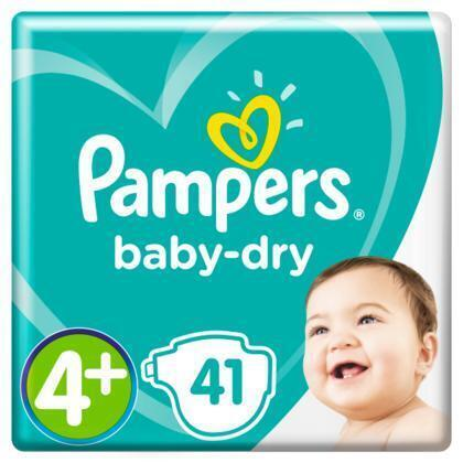 Luiers Pampers Baby Dry Maat 4+  PAK