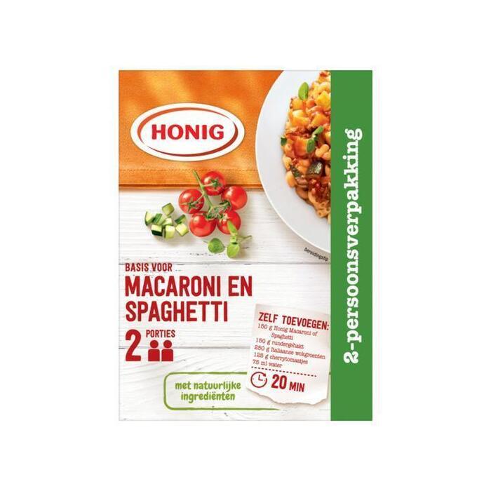 Honig Basis voor Macaroni en Spaghetti 20 g (20g)