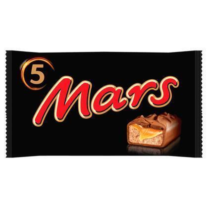 Mars (Stuk, 10 × 25g)