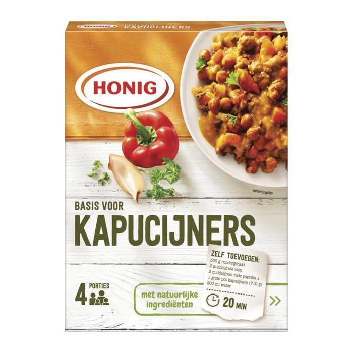Honig Mix voor Kapucijners (45g)