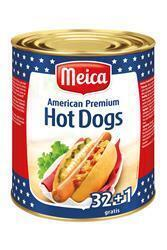 MEICA AMERICAN HOT DOGS -33X50G- (33 × 50g)