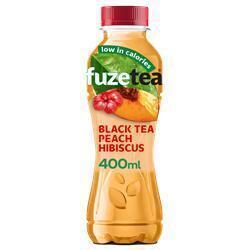 Ice tea zwarte thee perzik hibiscus (rol)