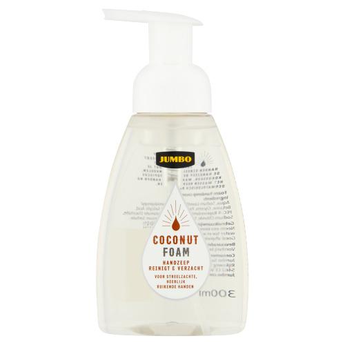 Jumbo Coconut Foam Handzeep Reinigt & Verzacht 300 ml (30cl)