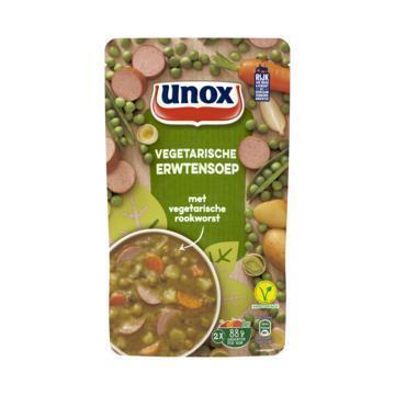 Soep in zak vegetarische erwtensoep (0.57L)