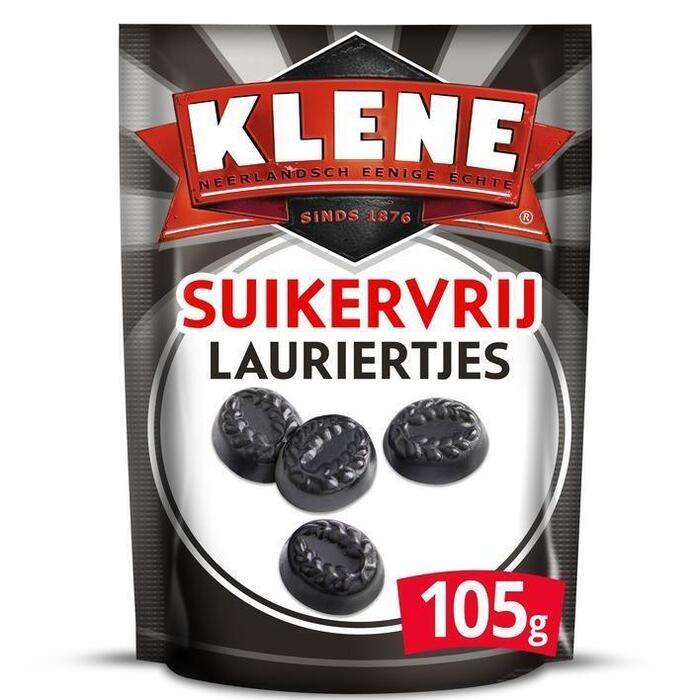 Klene Lauriertjes (drop suikervrij) (105g)