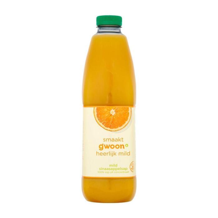 g'woon Sinaasappelsap mild (1.5L)
