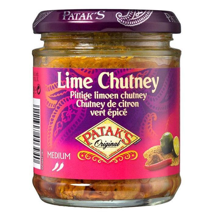 Patak's Pittige Limoen Chutney Medium 170g (170g)
