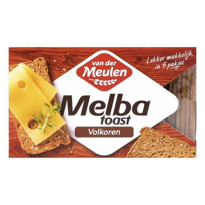 Van der Meulen Melba toast volkoren (120g)