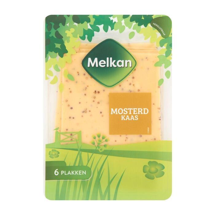 Melkan Mosterd 48+ kaas plakken (150g)