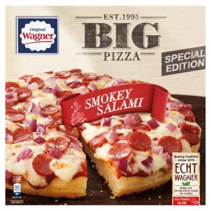 Big pizza smokey salami (410g)