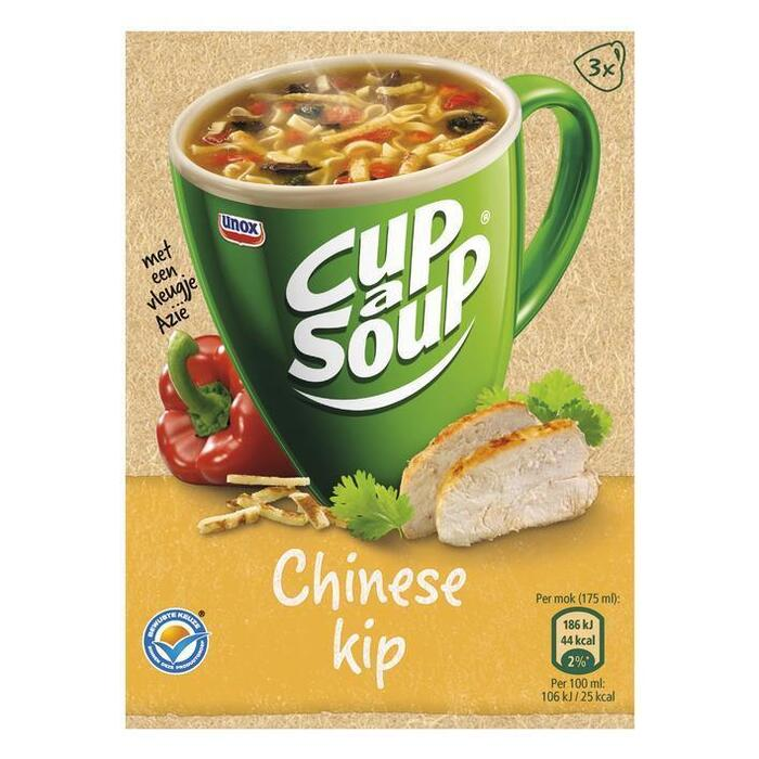 Cup-A-Soup Chinese Kip 3 x 13g (3 × 13g)