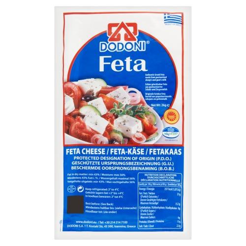 Fetakaas 2 KG Folie (2kg)