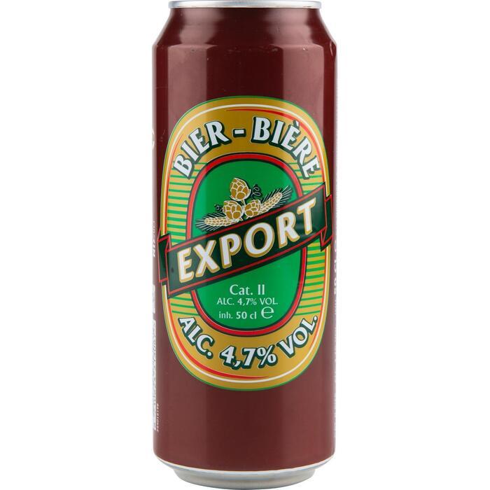 Export pils blik (0.5L)