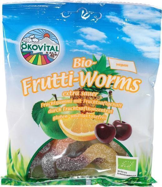 Fruitworm zonder gelatine (100g)