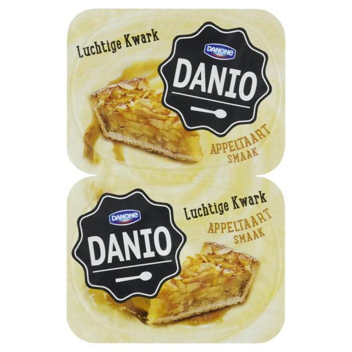 Danone Danio luchtige kwark appeltaart (2 × 125g)