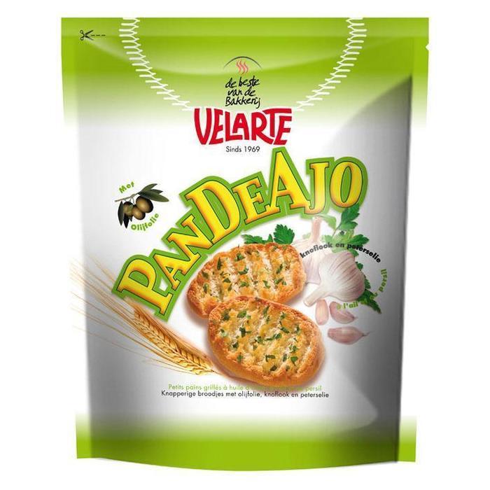 Velarte Pan de ajo (knoflookbroodje) (160g)