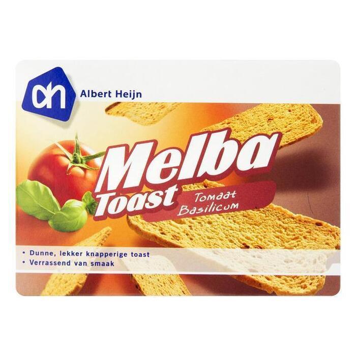 Melbatoast tomaat-basilicum (100g)