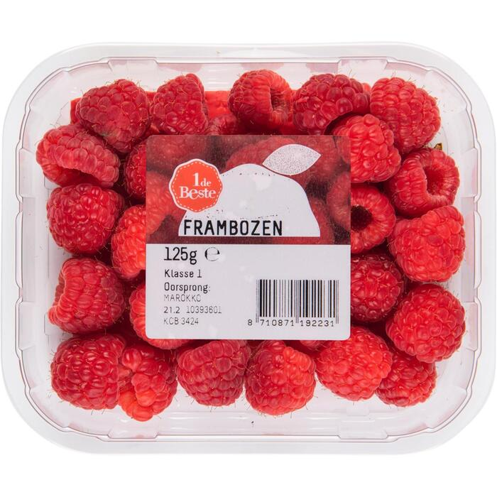 Frambozen (125g)