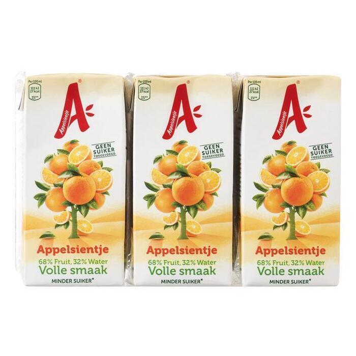 Appelsientje Sinaasappelsap pak 6 stuks (6 × 200ml)