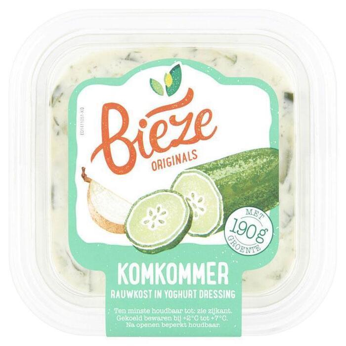 Bieze Komkommer Rauwkost in Yoghurt Dressing 250 g (Stuk, 250g)
