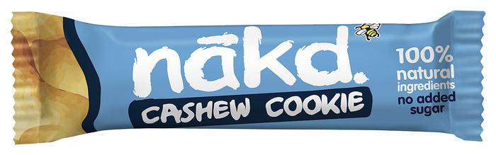 Nakd fruit- & notenreep cashew cookie 35 gram (35g)