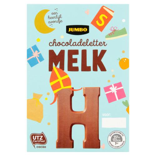 Jumbo Melkchocolade Letter H 65 g (65g)