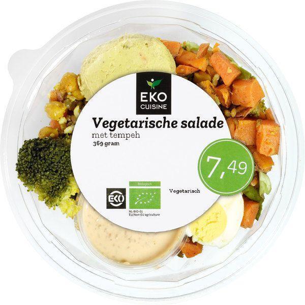 Vegetarische salade met tempeh (360g)