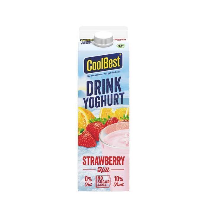 CoolBest Drink yoghurt strawberry hill (1L)