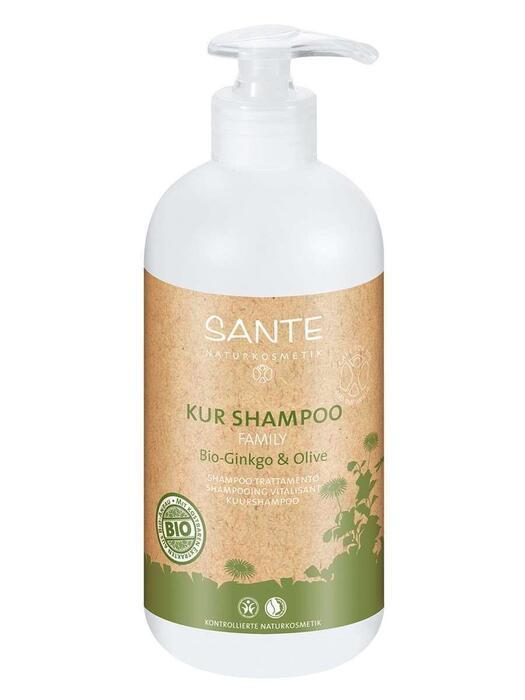 Family Kuurshampoo Bio-Ginkgo-Olijf SANTE 500ml (0.5L)