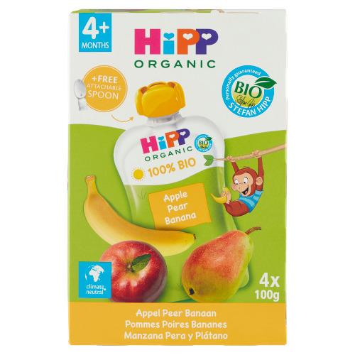 HiPP BIO Appel Peer Banaan 4 x 100 g (100g)
