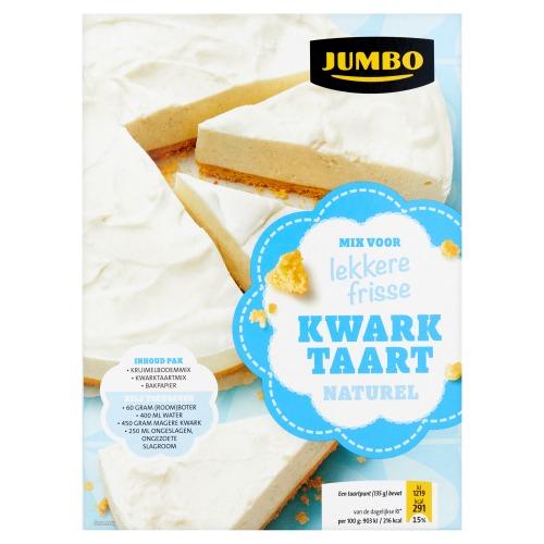 Jumbo Mix voor Lekkere Frisse Naturel Kwarktaart 440g (440g)