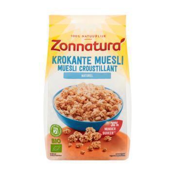 Zonnatura Krokante muesli naturel bio (375g)
