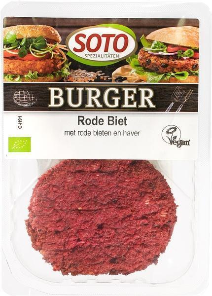 Rode biet burger (150g)