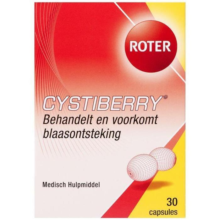 Roter Cystiberry capsules (30 st.)