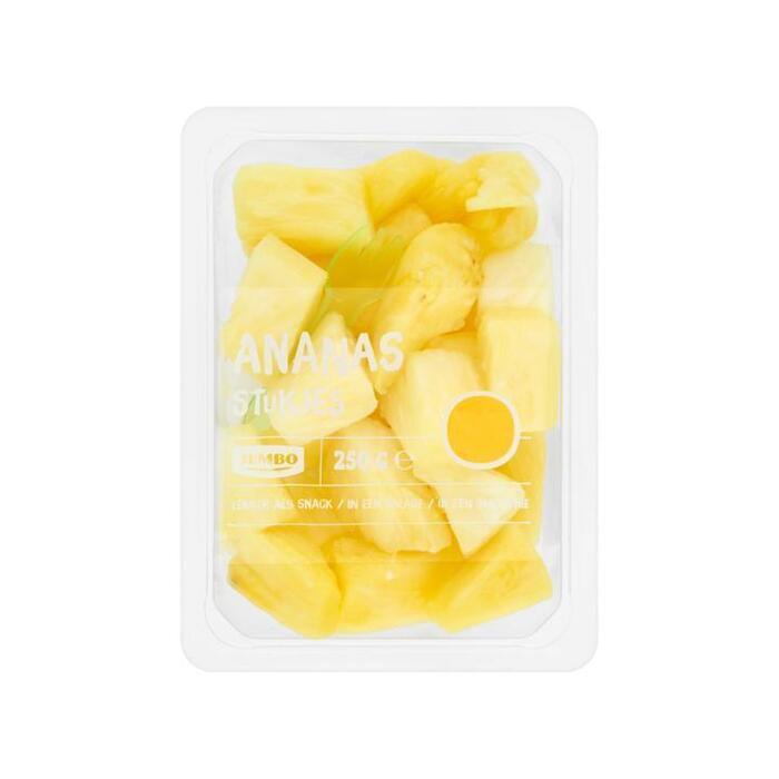 Jumbo Ananasstukjes 250g (250g)