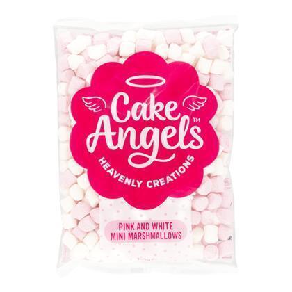 Cake Angels Mini Marshmallows Pink & White 150g (300g)
