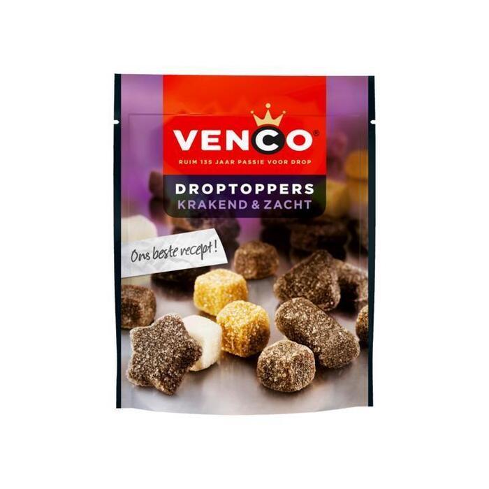 Venco Droptoppers Krakend & Zacht 240 g (216g)