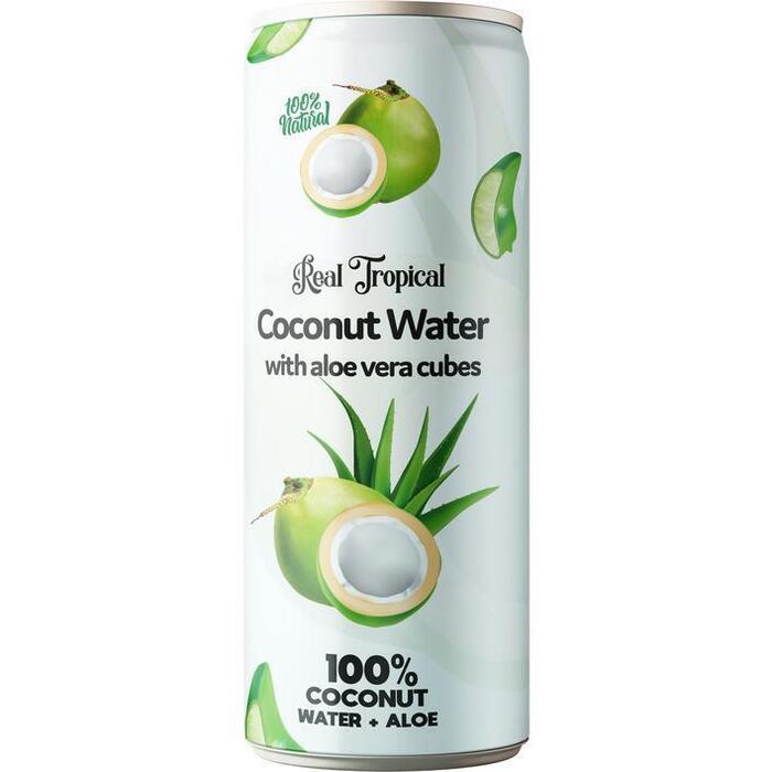 100% Kokoswater Aloe Vera (33cl)