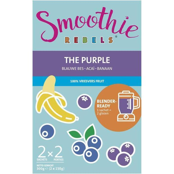 Smoothie Rebels The purple (2 × 300g)