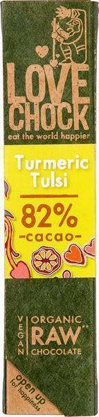 RAW chocolade kurkuma/tulsi (40g)